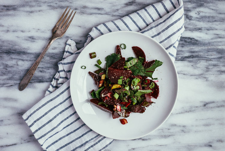 An In-Between Salad for In Between Seasons