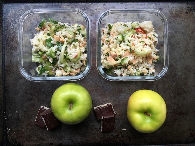 A Milanese Rice Salad