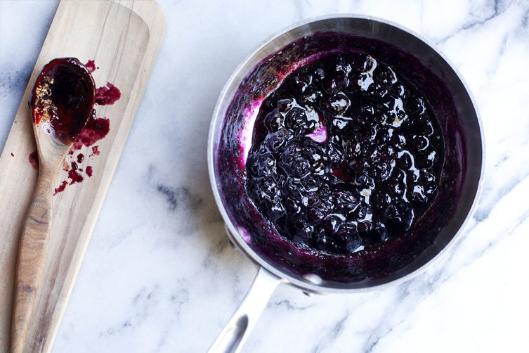 How Phyllis Grant Turns Blueberry Jam into Lunch