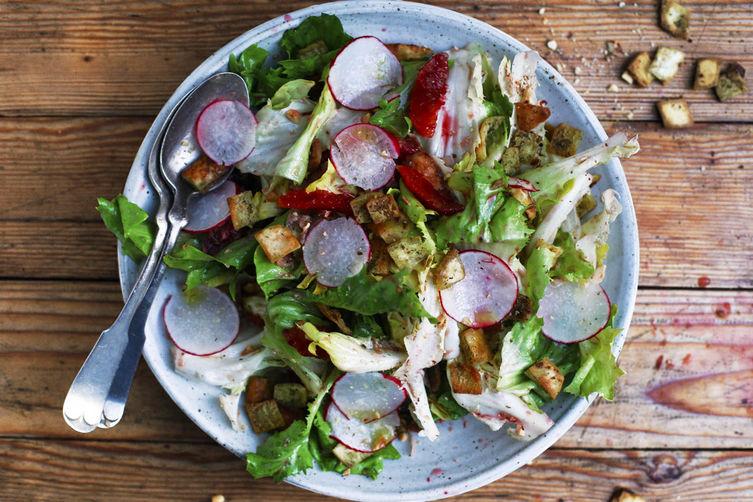 The Escarole Salad of Your Dreams