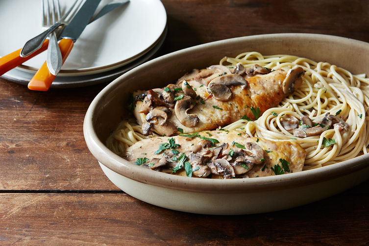 A Creamy Weeknight Chicken Marsala