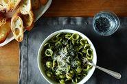 Kale Pesto Orecchiette + The Gin Hound