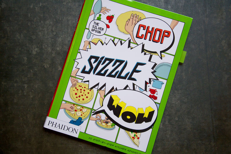 The Silver Spoon's Comic Cookbook and All Its Images