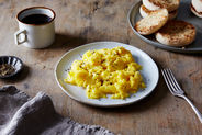 The Genius Trick for Magically Creamy Scrambled Eggs (in 15 Seconds)