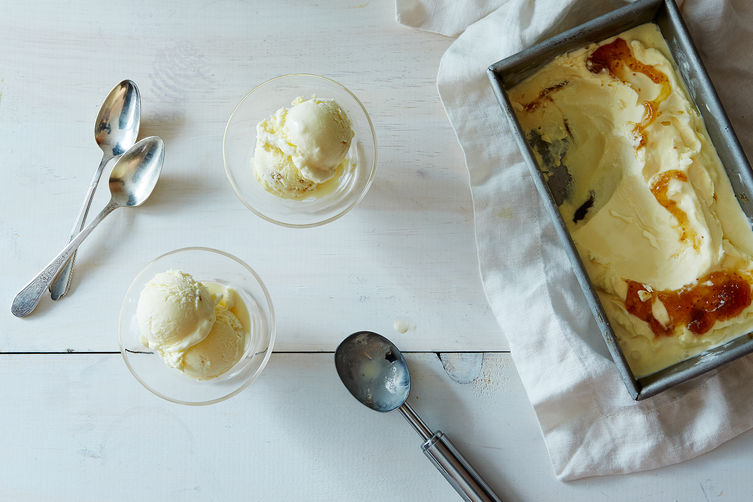 A Creamy Goat Cheese Ice Cream + 7 Ways to Make it Your Own