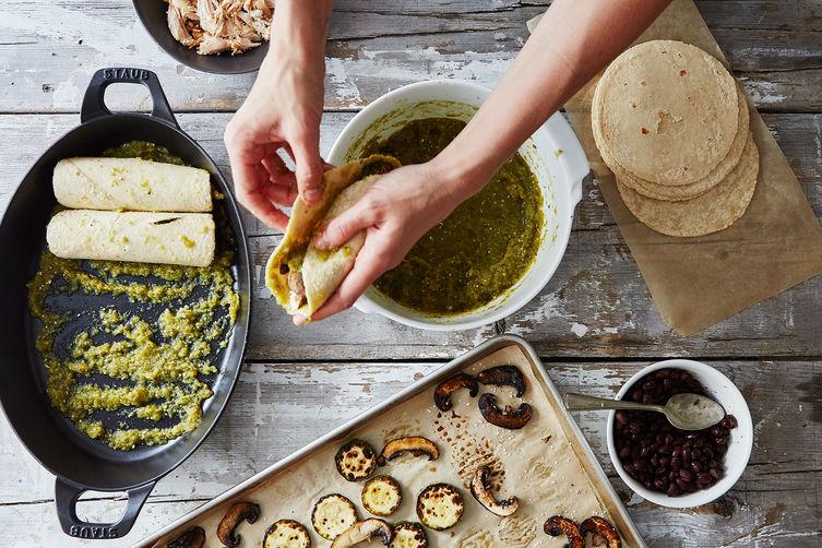 How to Make Enchiladas without a Recipe