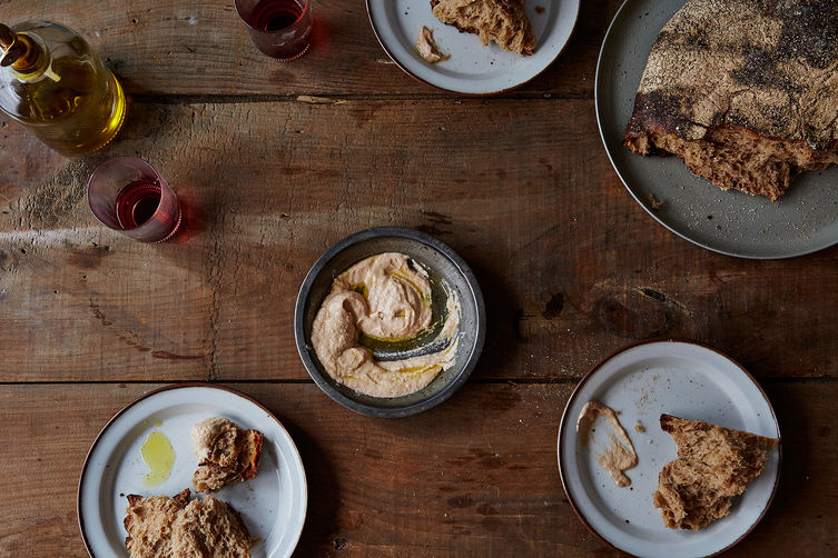 A Genius Trick for Lighter, Smoother Hummus