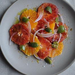 Blood Orange Salad with Olives