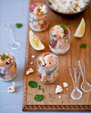 Warm Summer Shrimp Salad with Virginia Willis