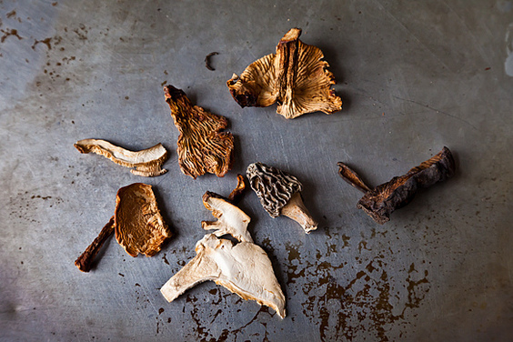 How to Cook with Dried Mushrooms