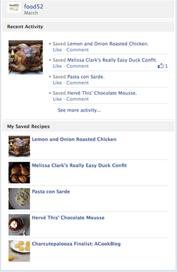 Announcing the FOOD52 Facebook app!