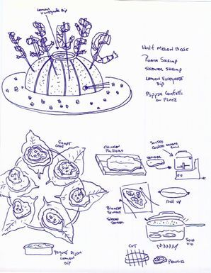 A Little Recipe Illustration, For Good Measure