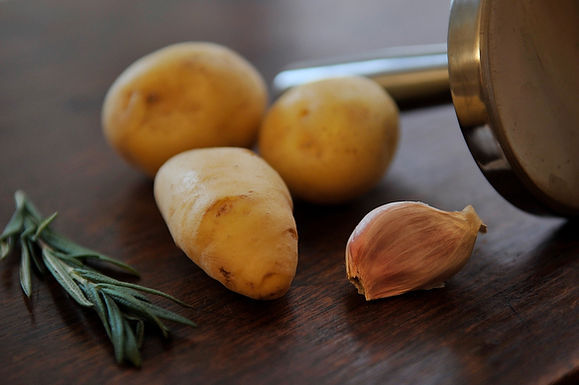 Food Poem Fridays: Potatoes Get a Poetic Nod