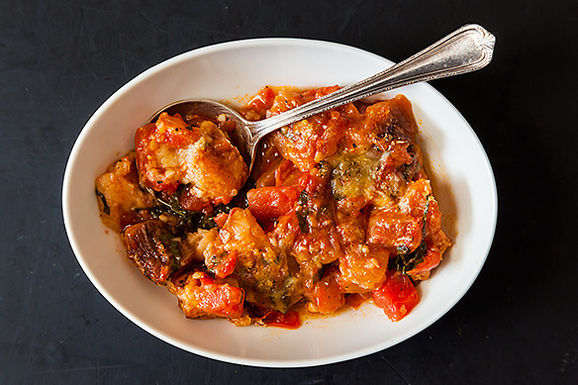 Sarah Leah Chase's Scalloped Tomatoes