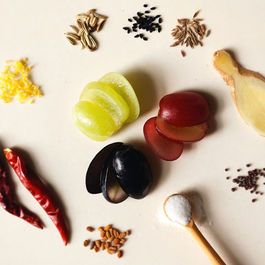 Grapechutney-ingredients
