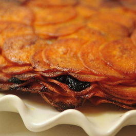 Sweet Potatoes Anna with Prunes