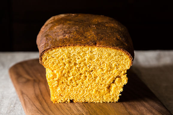 Sweet Potato-Cornmeal Sandwich Loaf