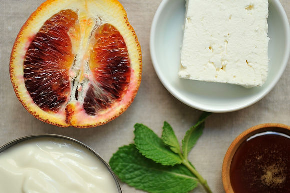 Your Best Dish with Blood Orange, Mint and Feta