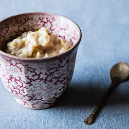 Creamy Coconut Milk Rice Pudding