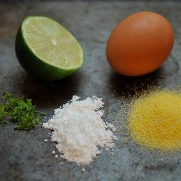 Lime Cornmeal Biscotti