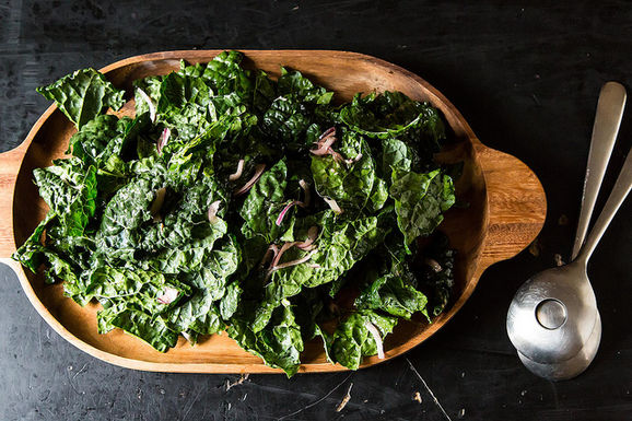 Kale Salad With Bagna Cauda Vinaigrette Recipes — Dishmaps