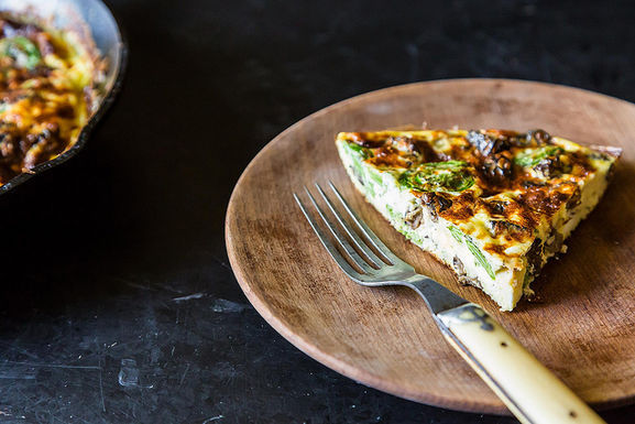 Fiddlehead_frittata