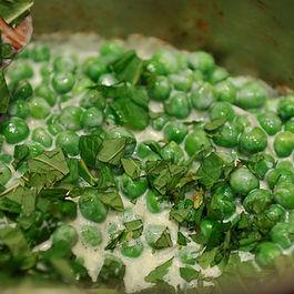 Peas in Mint Cream