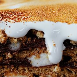 Faith Durand's S'Mores Pudding Cake