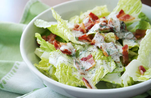 Bacon-salad