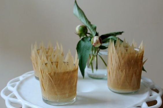 How-To: DIY Parchment Paper Votives