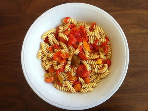 Cherry Bombe's Pasta with Cherry Tomatoes