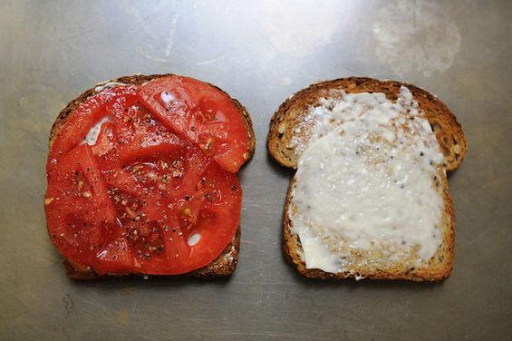 A Tomato Sandwich Party