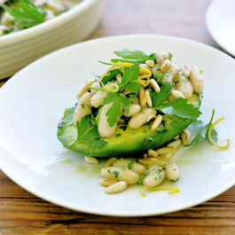 Avocado Bowls with Citrus Herb White Bean Salad