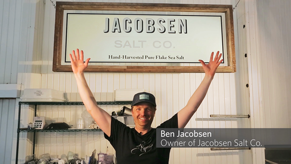 Ben Jacobsen of Jacobsen Salt Co.