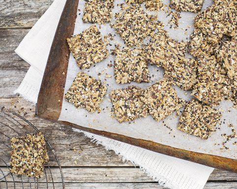 Green Kitchen Stories' Orange-Kissed Seed Crackers
