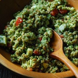 Farro_mozz_and_arugala_pesto