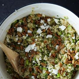 Lemon Herb Quinoa with Hemp Seeds, Spring Peas, and Basil Recipe on ...