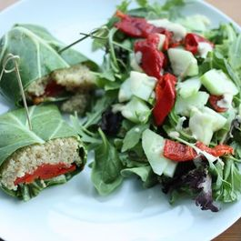 Collard and Quinoa Wraps