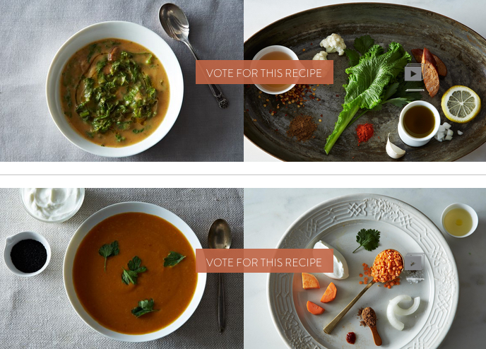 Finalists: Your Best Recipe for Autumn Soup