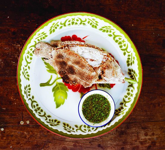 Pok Pok's Salt-Crusted Fish with Chile Dipping Sauce