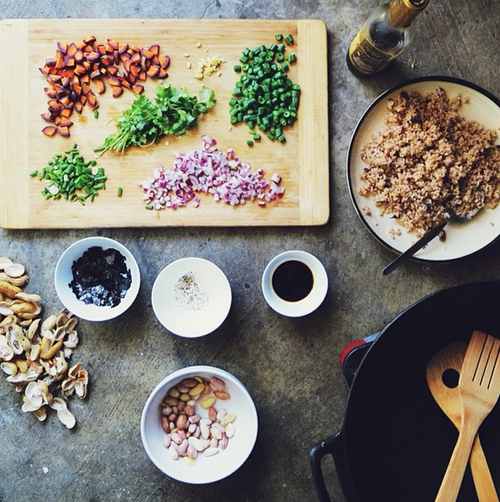 Your Photos: Ingredient Prep