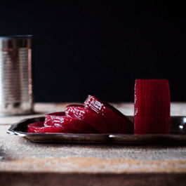 Homemade Cranberry Sauce, in a Can