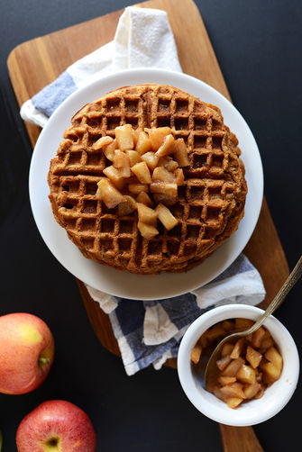 Vegan-apple-waffles-minimalistbaker.com_