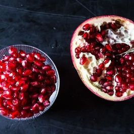 Alice Waters' Pomegranate Gelée