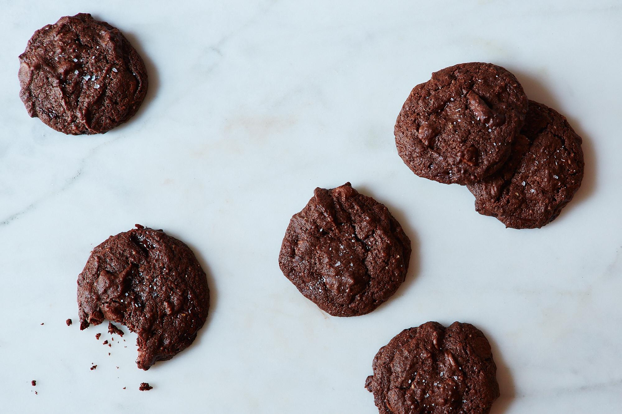 Bittersweet Chocolate, Orange and Cardamom Cookies Recipe
