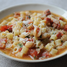 Dinner Tonight: Pasta e Fagioli + a Negroni