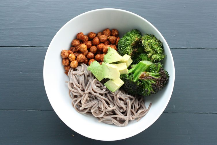 An Easy Soba Noodle Bowl