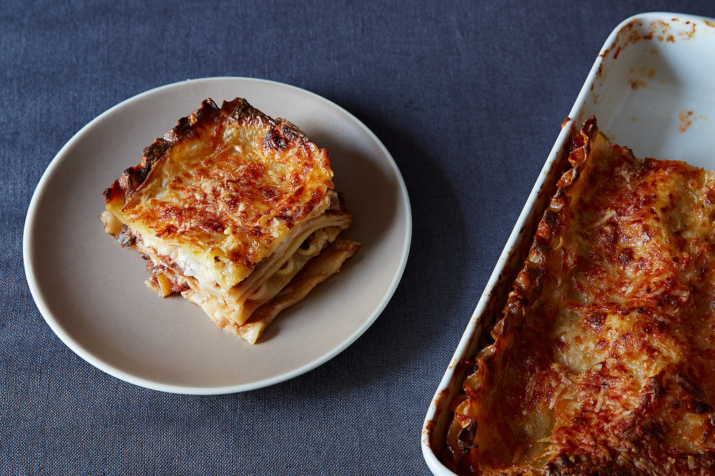 how to make lasagna without ricotta