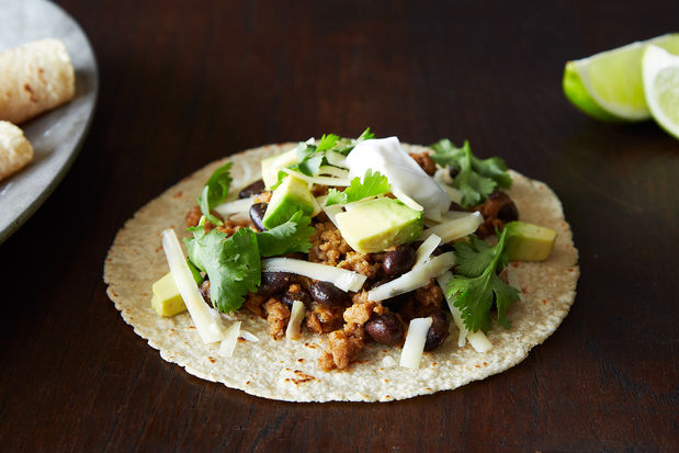 Pork tacos from Food52