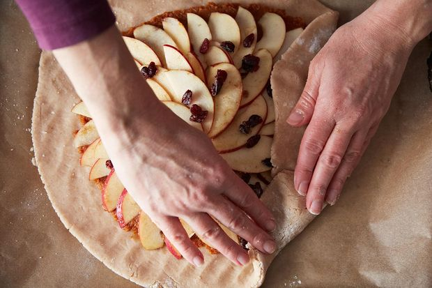 Autumn Apple & Pumpkin Galette